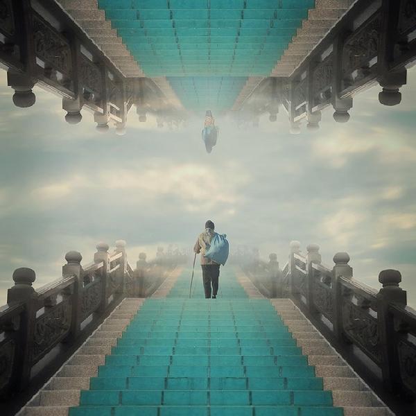 Hossein Zare超现实主义摄影:妙想寂寞世界